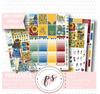 Dolce Vita Full Weekly Kit Printable Planner Stickers (for use with Erin Condren Vertical) - Plannerologystudio