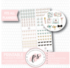 Various Planner Stationery & Accessories Icons Digital Printable Planner Stickers