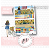 Dolce Vita June 2019 Monthly View Kit Digital Printable Planner Stickers (for use with Erin Condren) - Plannerologystudio