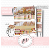 Fall in NYC September 2019 Monthly View Kit Digital Printable Planner Stickers (for use with Erin Condren) - Plannerologystudio