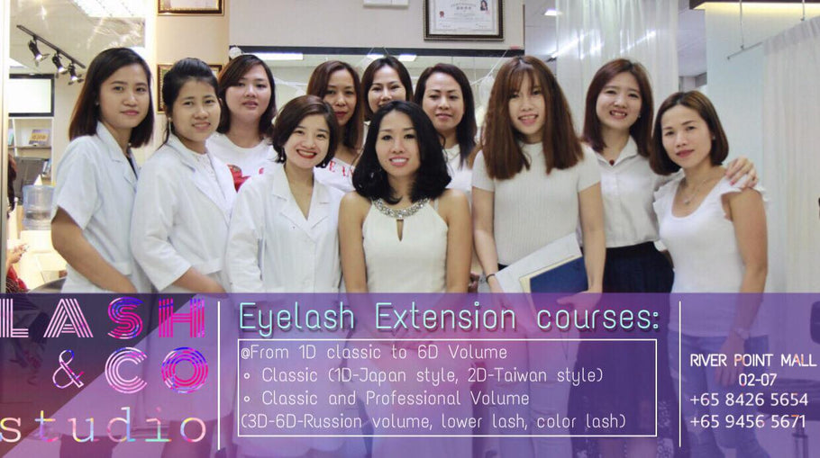 Eyelash Extensions Workshop - Basic to Professional Courses in Singapore