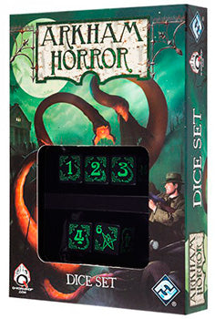 Arkham Horror - Set di Dadi Nero (5)