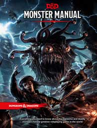 D&D 5th Edition - Monster Manual