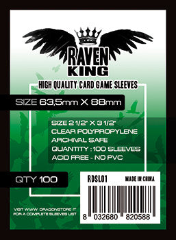 Raven King - Bustine Protettive 63,5x88mm (100)