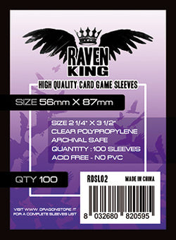 Raven King - Bustine Protettive 56x87mm (100)