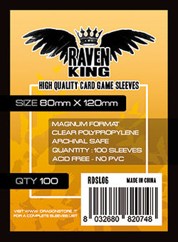 Raven King - Bustine Protettive 80x120mm (100)
