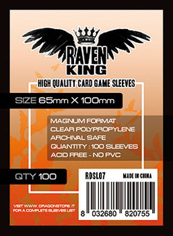 Raven King - Bustine Protettive 65x100 (100)