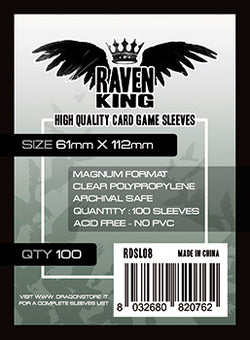Raven King - Bustine Protettive 61x112mm (100)