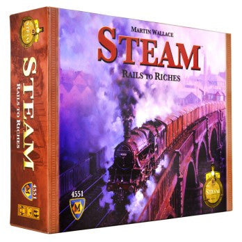 Steam: Rails to Riches ENG
