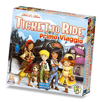 Ticket to Ride - Primo Viaggio