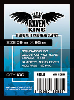 Raven King - Bustine Protettive 59x92 mm (100)