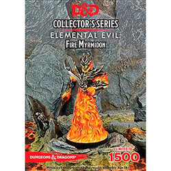 D&D 5a Edizione Miniature - Collector's Series - Elemental Evil: Fire Myrmidon