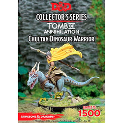D&D 5a Edizione Miniature - Collector's Series - Tomb of Annihilation: Chultan Dinosaur Warrior
