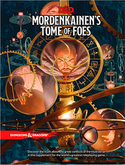 D&D 5th Edition - Mordenkainen's Tome of Foes