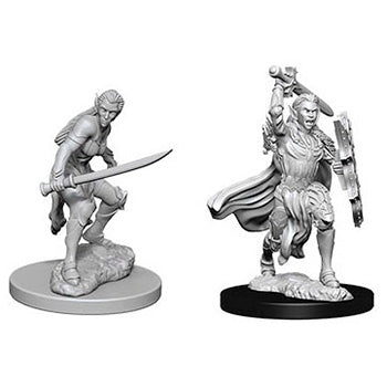 D&D Nolzur's Marvelous Miniatures - Guerriero Elfo Femmina