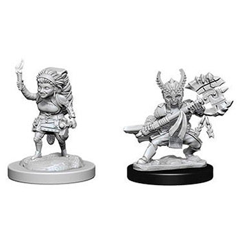 D&D Nolzur's Marvelous Miniatures - Guerriero Halfling Femmina