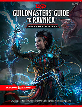 D&D 5th Edition - Guildmasters' Guide to Ravnica Maps and Miscellany