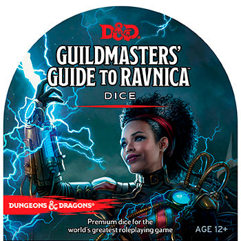 D&D 5th Edition - Guildmaster's Guide to Ravnica - Set di Dadi