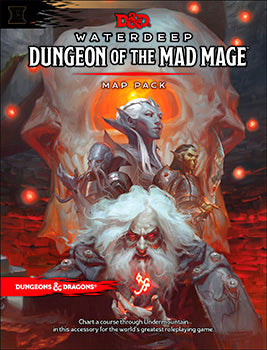 D&D 5th Edition - Dungeon of the Mad Mage Maps and Miscellany