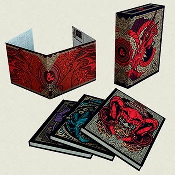 D&D 5th Edition - Core Rulebook Gift Set (PREORDINE)