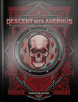D&D 5th Edition - Baldur's Gate - Descent Into Avernus Limited Cover ENG