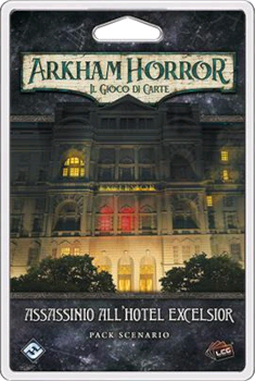 Arkham Horror LCG - Assassinio all'Hotel Excelsior