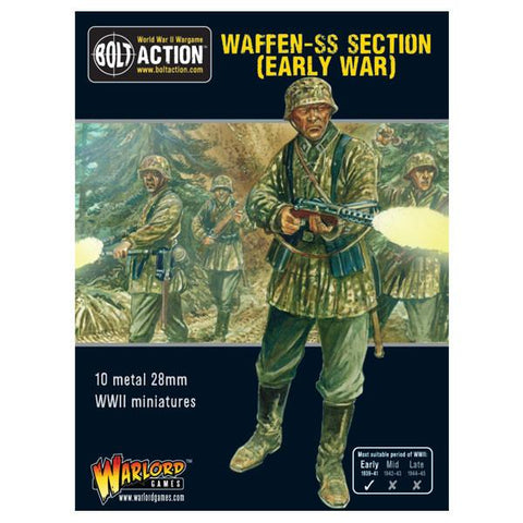 Bolt Action - Early War Waffen-SS squad (1939-1942)