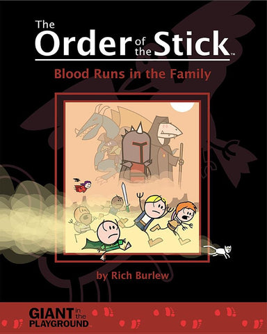 The Order of the Stick (Volume 5) -  Blood Runs in the Family