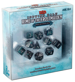 D&D 5th Edition - Icewind Dale: Rime of the Frostmaiden - Set di Dadi