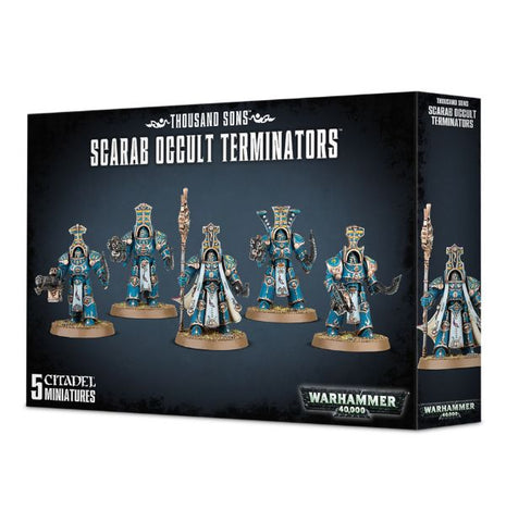 Warhammer 40.000 - Chaos Space Marine - Scarab Occult Terminators