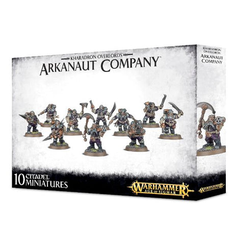 Warhammer Age Of Sigmar - Kharadron Overlords - Arkanaut Company