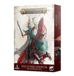 Warhammer Age of Sigmar - Broken Realms: King Sythus Nemmetar – The Bloodsurf Hunt (Caccia Cresta di Sangue)
