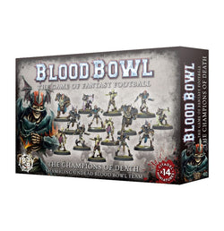 Blood Bowl - The Champions of Death - Shambling Undead Blood Bowl Team