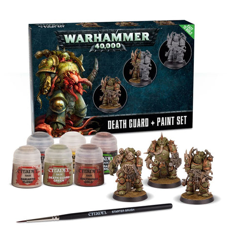 Warhammer 40.000 - Death Guard + Paint Set