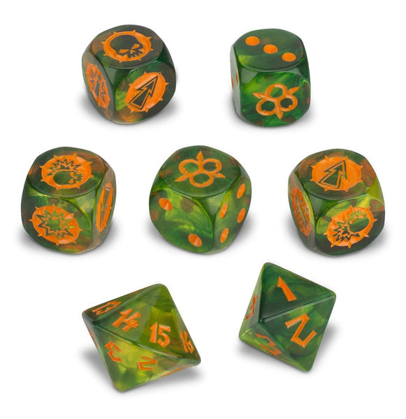 Blood Bowl - Nurgle Team Dice Set