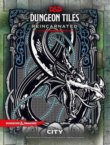 D&D 5a Edizione - Dungeon Tiles Reincarnated - City