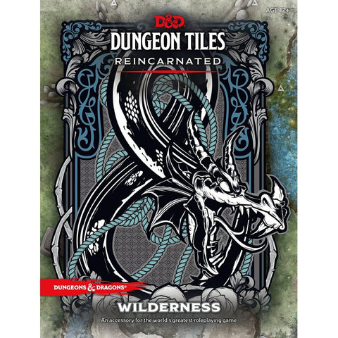 D&D 5a Edizione - Dungeon Tiles Reincarnated -WILDERNESS(Regioni Selvagge)