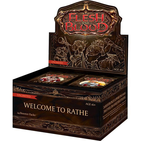 Flesh & Blood TCG – Welcome  Unto Rathe Limited Booster Display (24 Packs) – ENG
