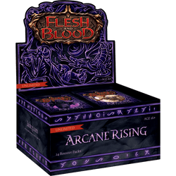 Flesh & Blood TCG – Arcane Rising Unlimited Booster Display (24 Packs) – ENG