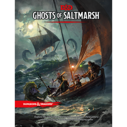 D&D 5TH EDITION - GHOSTS OF SALTMARSH ENG (PREORDINE)