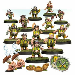 Blood Bowl - The Greenfield Grasshuggers - Halfling Blood Bowl Team