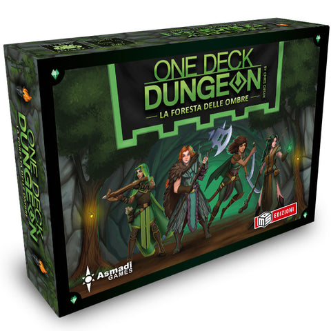 One Deck Dungeon - La Foresta delle Ombre + PROMO PACK