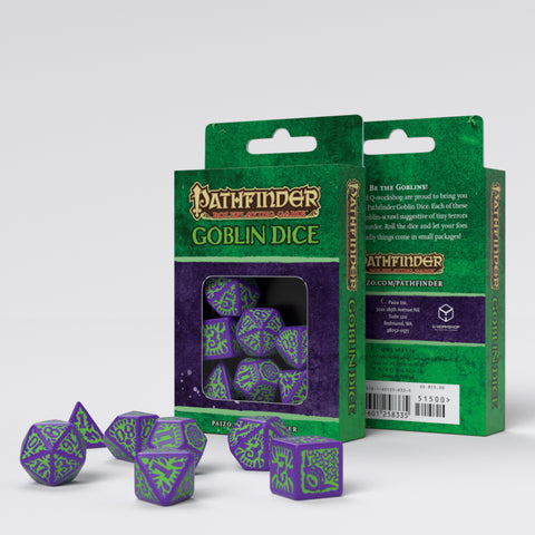 Set Dadi Pathfinder - Goblin Dice