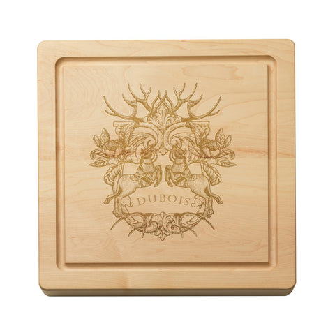 "Monogrammed Cutting Board - 14"" Square"