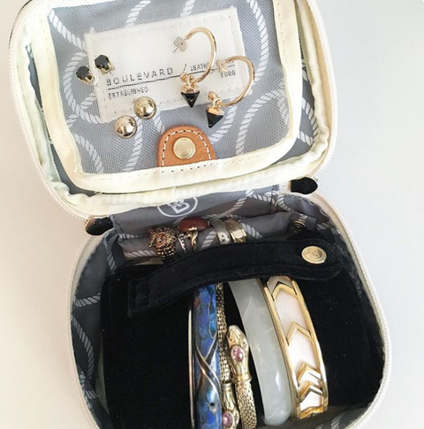 Zoe Small Jewelry Case