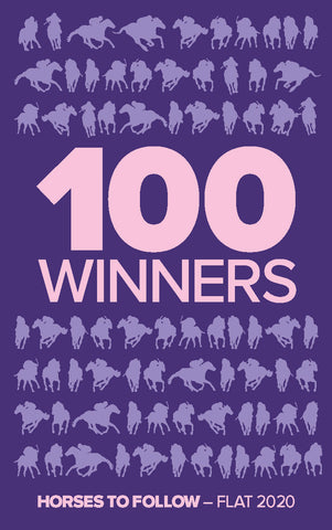 100 Winners - Horses to Follow Flat 2020 <br/>*** Pre-order Now ***