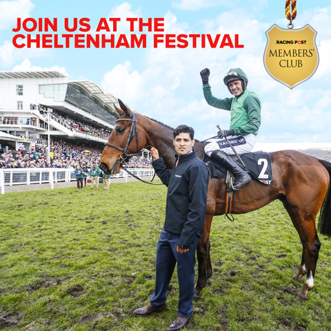 Exclusive hospitality offer for Members' Club subscribers at the Cheltenham Festival, Tuesday, March 12, 2019