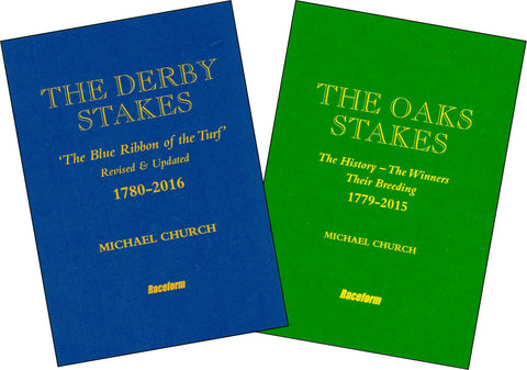 The Derby Stakes and The Oaks Stakes<br> Signed Limited Edition - by Michael Church