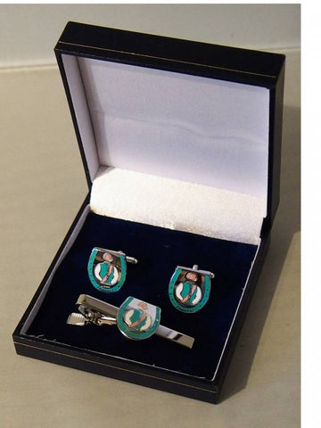 Frankel Cufflinks and Tie Bar set