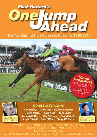 One Jump Ahead 2019-2020 by Mark Howard